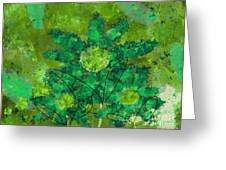 Stimuli Floral -s11bt01 Greeting Card by Variance Collections