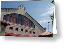 Stockyards Coliseum Greeting Card