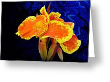 Stolen Moment Greeting Card by Michael Taggart