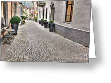 Stone Alley Greeting Card