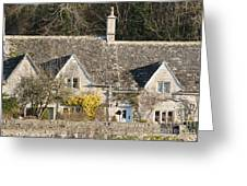 Stone Cottages Greeting Card