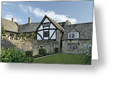 Stone Cottages In Broadway - Gloucestershire Greeting Card
