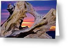 Stone Lagoon Sunset Redux Greeting Card