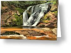 Stone Mountain Window Falls Greeting Card
