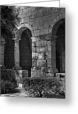 Stone Wall Greeting Card