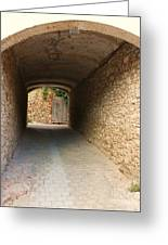 Stoned Tunnel Greeting Card