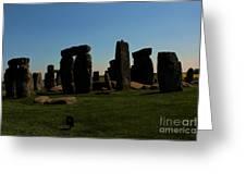 Stonehenge England Greeting Card