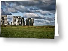 Stonehenge Landscape Greeting Card