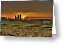Stonehenge Of The Heartland Greeting Card