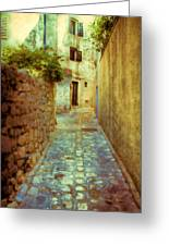 Stones And Walls Greeting Card