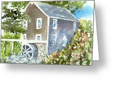 Stoney Brook Mill Greeting Card
