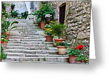 Stoney Stairs Greeting Card