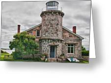 Stonington Lighthouse Museum Greeting Card