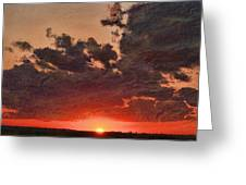 Stony Clouds Greeting Card