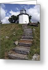 Stony Point Lighthouse Stony Point Ny Greeting Card