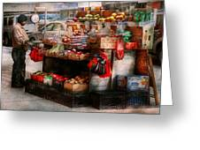 Store - Ny - Chelsea - Fresh Fruit Stand Greeting Card