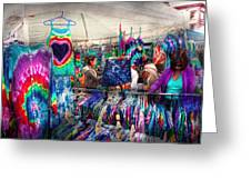 Storefront - Tie Dye Is Back  Greeting Card