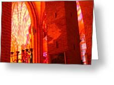 Storkyrkan I Stockholm Greeting Card
