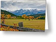 Storm Above Sneffels Greeting Card