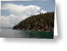 Storm Ahead Lake Tahoe Greeting Card