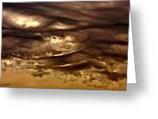 Storm Approaches Greeting Card