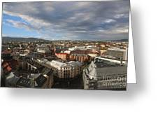 Storm Approaching Oslo Greeting Card