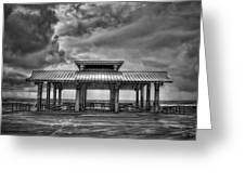 Storm Before The Calm Greeting Card
