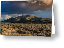 Storm Clearing Over Great Basin Greeting Card