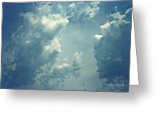 Storm Clouds - 3 Greeting Card