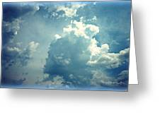 Storm Clouds - 4 Greeting Card