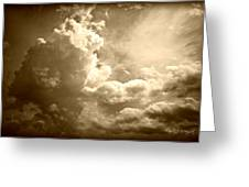 Storm Clouds - 5 Greeting Card