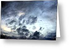 Storm Clouds At Dawn Greeting Card