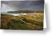 Storm Clouds Over Crookhaven Greeting Card
