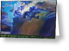 Storm Clouds Over Missouri Greeting Card