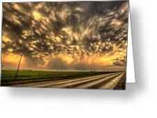 Storm Clouds Saskatchewan Greeting Card