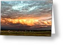 Storm Glow Greeting Card