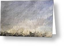 Storm In Life Greeting Card