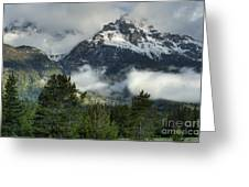 Storm  In The Tetons Greeting Card