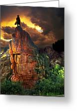 Storm On Buckhorn Mountain Greeting Card by Ric Soulen