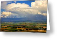Storm Over The Kittitas Valley Greeting Card