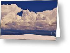Storms Over The Mountains Greeting Card