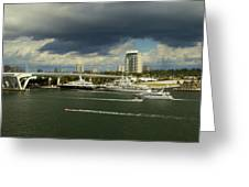 Stormy Fort Lauderdale Greeting Card