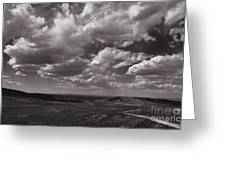 Stormy Wyoming Sky Greeting Card