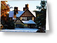 Storybook House Greeting Card