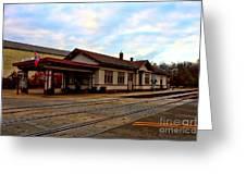 Stoughton Depot Greeting Card
