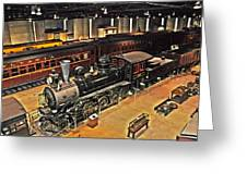 Strasburg Railroad Museum Greeting Card
