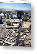 Stratosphere View 2 Greeting Card