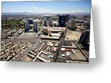 Stratosphere View 3 Greeting Card