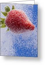 Strawberry Soda Dunk 2 Greeting Card