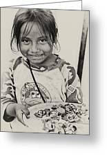 Street Child  Greeting Card